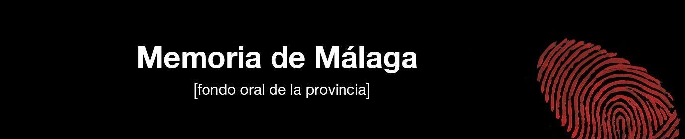 Memoria de Málaga